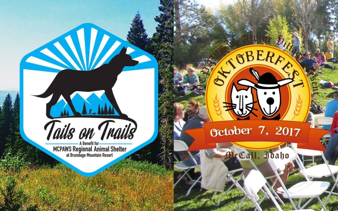 Tails on Trails 5K & Oktoberfest in McCall – Oct 7th