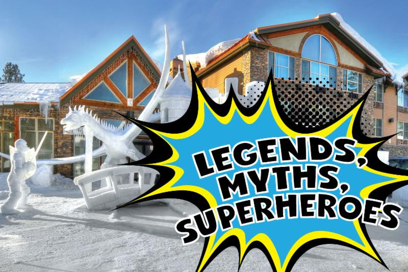 """Legends, Myths and Superheros"" at McCall's 2019 Winter Carnival"